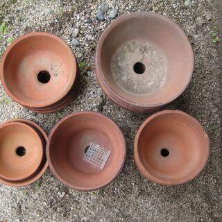 植木鉢 (深鉢、浅鉢) 25個