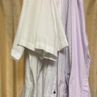 無料 訳あり メンズシャツ 半袖長袖 3L  7枚セット