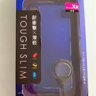 ★新品★iPhoneXRスマホケース ブルー