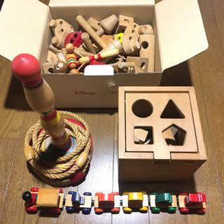 【ネット決済・配送可】ウッド 木製 知育玩具 4種セット ヴィン...