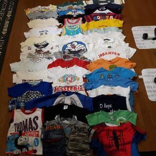 半袖子供服42枚+ハーフパンツ2枚(男の子)