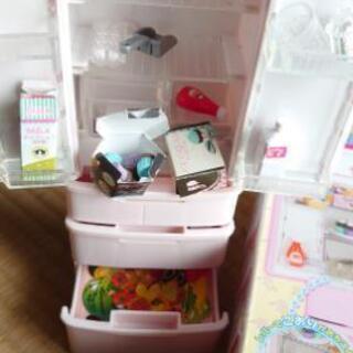 リカちゃん 冷蔵庫&ショッピングモール