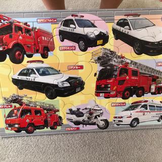 消防車・救急車・パトカー パズル