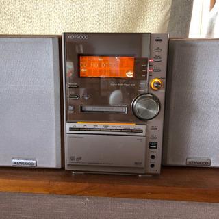 KENWOOD CD・MD・カセットミニコンポ