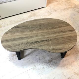 【値下げしました】【美品】ローテーブル 木製 グレー 北欧
