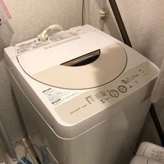シャープ洗濯機新品使用2年4.5L