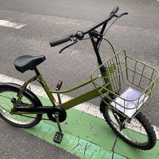 自転車 ミニサイクル グリーン 中古 美品