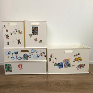 ニトリ カラーボックス 収納ケース インボックス ホワイト