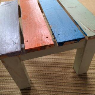 木製椅子 踏台 子ども用