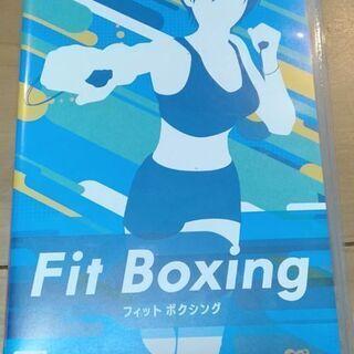 【ネット決済・配送可】フィット ボクシング(Nintendo S...