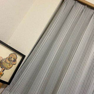 【ネット決済】【値下げ】ニトリ 遮光カーテン 100×190 2枚組