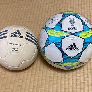 サッカーボールのセット(SIZE5とトレーニング用)