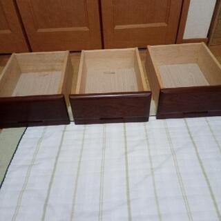 食器棚の引き出し3個