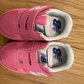 ニューバランス子供靴(13cm)試し履きのみ