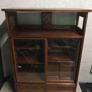 キャビネット サイドボード 収納棚 食器棚 茶箪笥 幅90cm×...