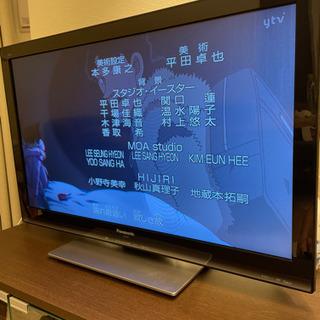 Panasonic 32型テレビ 完動品 テレビ台・コード・リモ...