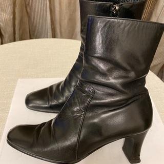 革 ブーツ 21cm ニューベル New Bell