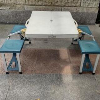 外用テーブル椅子セット