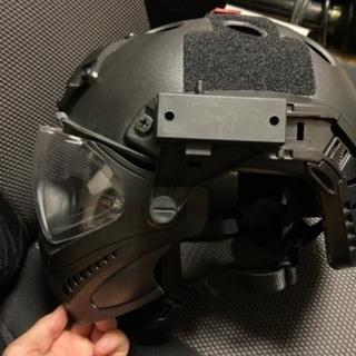 サバイバルゲーム フルフェイスヘルメット