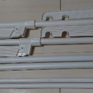 アイリスオーヤマ 窓枠物干し 2段 MW-260NR
