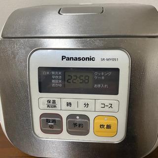 Panasonic 3合炊き 炊飯器