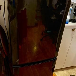 冷蔵庫 三菱MRP15X 146L 黒