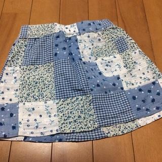 100スカート、ブルー