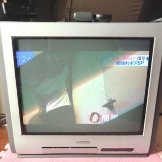 テレビ見れます!ブラウン管テレビ21型、無料で差し上げます!