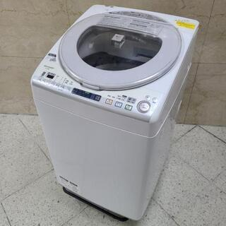 ■大阪府配送設置0円■2014年製 SHARP 洗濯8kg…