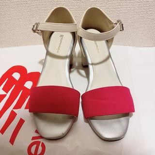 サンダル マーレマーレ ピンク 靴