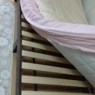 引っ越すための処分品 明石駅付近【引き取り来られる方限定】ベッド...