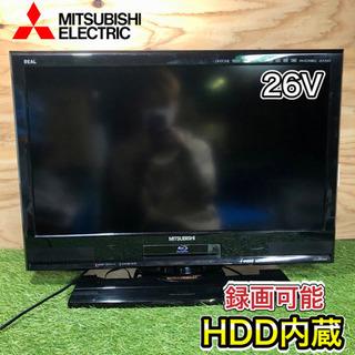 【激安‼️】MITSUBISHI REAL 液晶テレビ26…