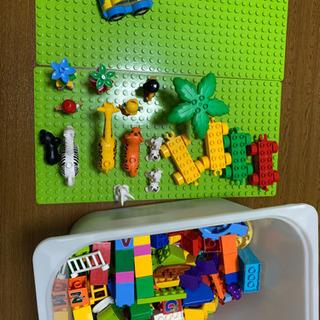 レゴ duplo 互換 大量(板付き)