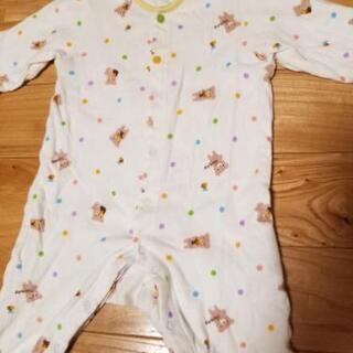 赤ちゃんの城 長袖ロンパース70