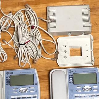 電話機 NTT  ネットコミュニティシステムAX - 家電
