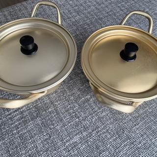 辛ラーメンにぴったりな。韓国調理器具 洋銀黄鍋