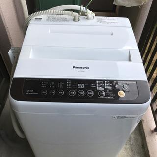 【ネット決済】2016年製 パナソニック洗濯機 7.0kg