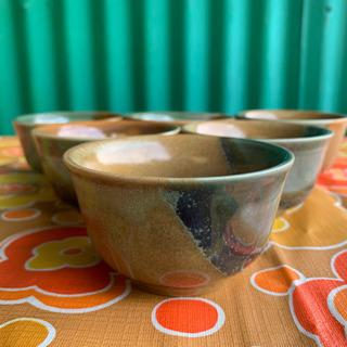 20.陶器茶器  6個セット