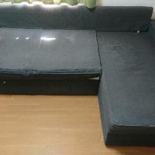 3人掛けソファーベッド 差し上げます。