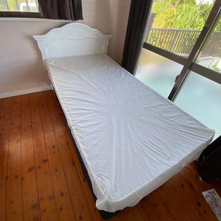 ツインサイズ 子供用ベッドフレーム&マットレス
