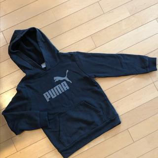130㌢ Pumaパーカー 黒