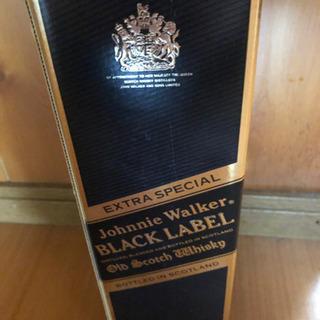 ブラックラベルのウイスキー