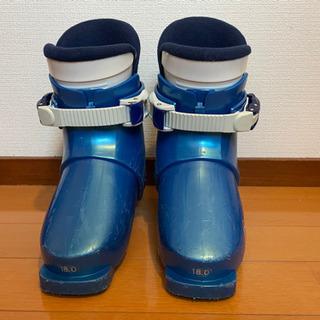 スキーと靴のセット