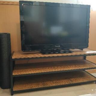 32型液晶テレビとテレビボードお譲りします。