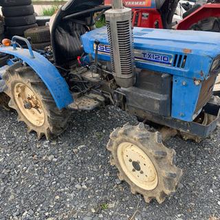 『現車確認優先』イセキ実働トラクター4WD 12馬力 耕ニ