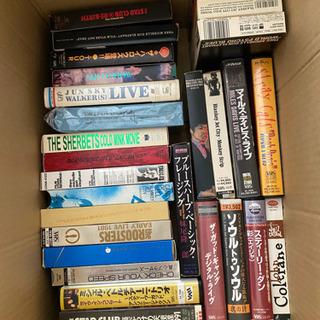 いろいろなビデオテープ