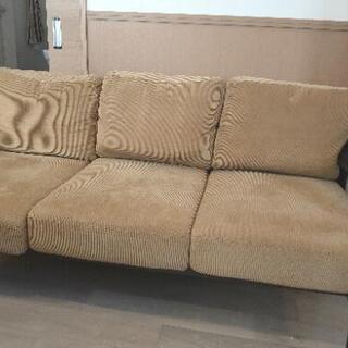 3人掛けソファーお譲りします。