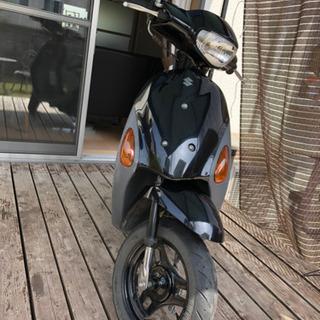 レッツ4  50cc 原付バイク  人気のブラック色 実働