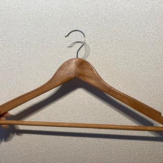 木製ハンガー46本
