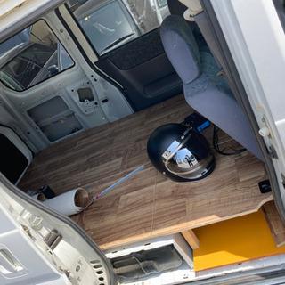 平成11年バモス後部座席 リアシート 後部シートベルト付き…